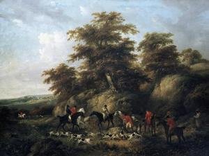 The End of the Hunt by George Morland