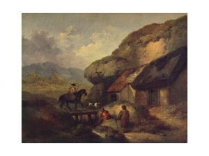 'The Traveller', c1795 by George Morland