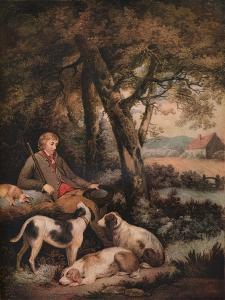 'The Weary Sportsman', c1803 by George Morland
