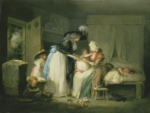 Visit to the Child at Nurse, C.1788 by George Morland