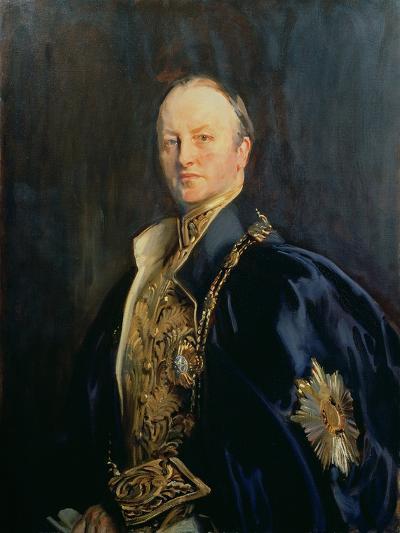 George Nathaniel, Marquis Curzon of Kedleston (1859-1925), 1890s T2-John Singer Sargent-Giclee Print
