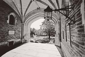 Archway, Blair Hall, Princeton University, NJ by George Oze