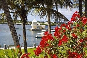 Boathouse View, Hamilton, Bermuda by George Oze