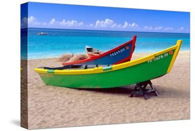 Brightly Painetd Boats, Puerto Rico