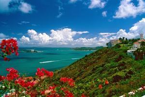 Caribbean Panorama, Fajardo, Puerto Rico by George Oze