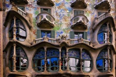 Casa Batllo Gaudi, Barcelona, Spain by George Oze