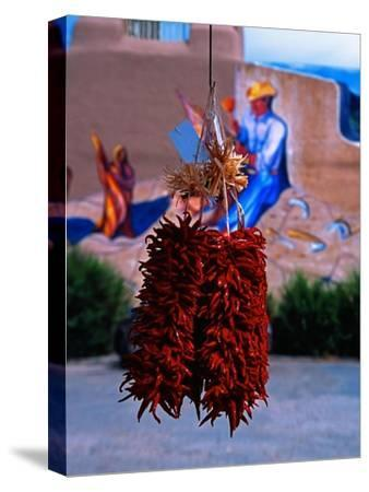 Chile Ristras of Taos, New Mexico