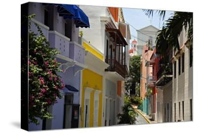 Colorful Street, Old San Juan, Puerto Rico