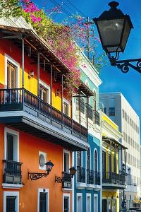 Colors Of Old San Juan I by George Oze