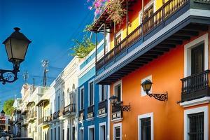 Colors Of Old San Juan II by George Oze