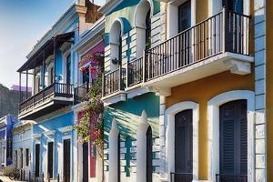 Colors Of Old San Juan III by George Oze