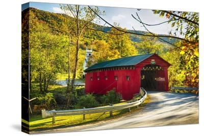 Covered Bridge In The Green Mountains, Vermont