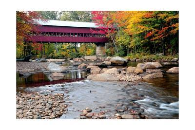 Covered Bridge over the Swift River, Conway, NH