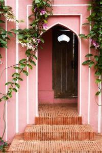 Garden Door by George Oze