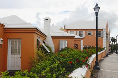 Hamilton Street, Bermuda, UK by George Oze