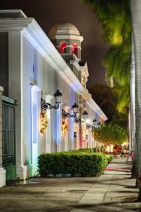 La Princesa During Holidays, San Juan, Puerto Rico by George Oze