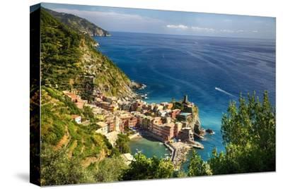 Ligurian Coast View At Vernazza, Italy
