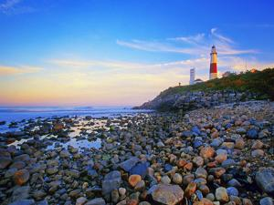 Montauk Lighthouse, Long Island, New York by George Oze