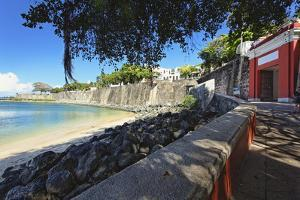 Old San Juan City Gate View, Puerto Rico by George Oze