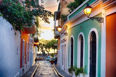 Old San Juan Sunset Glow