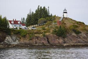 Owls Head Lighthouse, Rockland Harbor, Maine by George Oze
