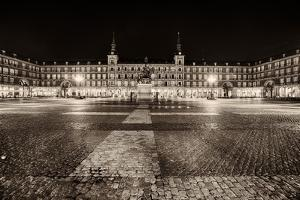 Plaza Mayor After Midnight, Madrid, Spain by George Oze