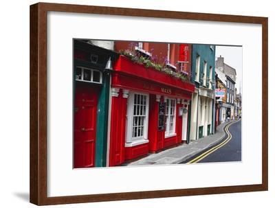Pubs Lined Street, Kinsale, Ireland