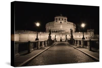 Quiet Night at Castle Sant Angelo, Rome, Italy