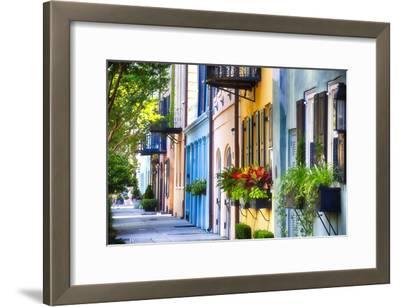 Rainbow Row I, Charleston South Carolina