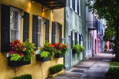 Rainbow Row II, Charleston South Carolina