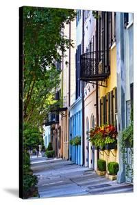 Rainbow Row III Charleston, South Carolina by George Oze