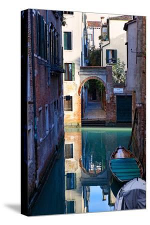 Reflection in a Canal, Venice, Italy