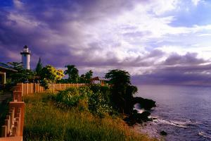 Rincon Lighthouse, Puerto Rico by George Oze