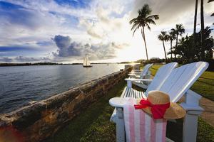 Romantic Hamilton Bay Sunset, Bermuda by George Oze