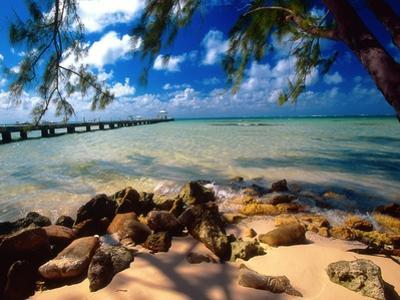 Rum Point Jetty, Cayman Islands by George Oze