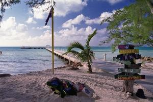 Rum Point View Grand Cayman Island by George Oze