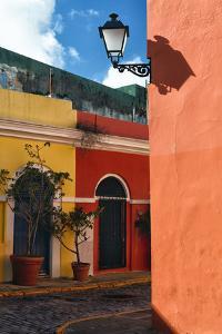 Street Corner, Old San Juan, Puerto Rico by George Oze