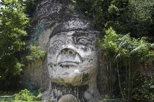 Taino Indian Sculpture, Isabela, Puerto Rico by George Oze