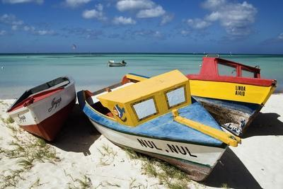 Three Fishing Boats Aruba