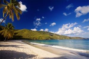 Tranquil Magens Beach, St Thomas, Virgin Islands by George Oze