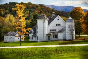 Vermont Scenic Farm I by George Oze