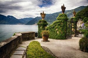 Villa Gate, Lake Como, Italy by George Oze