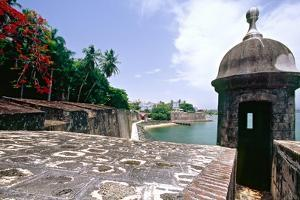 Walls of Old San Juan, Puerto Rico by George Oze