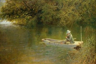 Contentment, a Corner of a Norfolk Broad