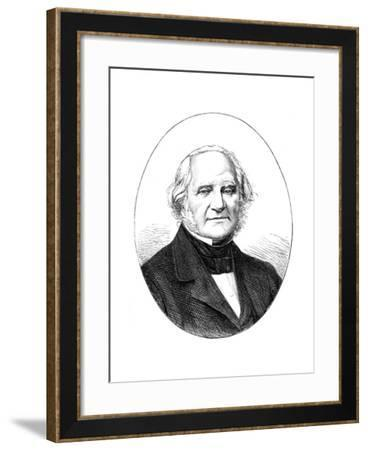 George Peabody (1795-186), American Banker and Philanthropist--Framed Giclee Print