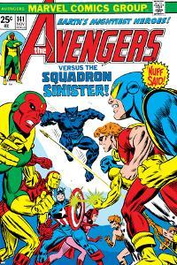 Avengers No.141 Cover: Beast by George Perez