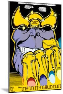 Infinity Gauntlet No.2 Headshot: Thanos by George Perez