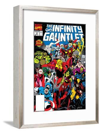 Infinity Gauntlet No.3 Cover: Adam Warlock