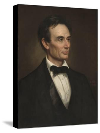 1860 18x24 Canvas Art Poster George Peter Alexander Healy Abraham Lincoln