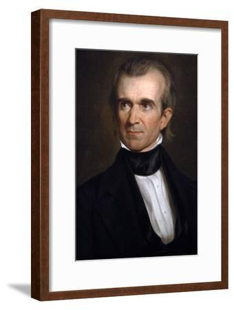 James K. Polk . 11th President of the United States. Washington D.c